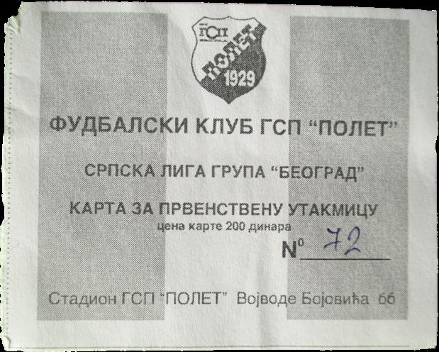Karta_GSP Polet_Beograd