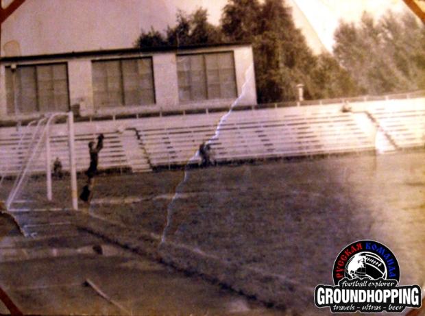 Сентябрь 1968 г. Балашиха. Стадион Машиностроитель