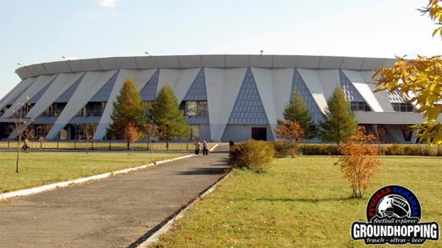 Внешний вид стадиона им Вениамина Сотникова