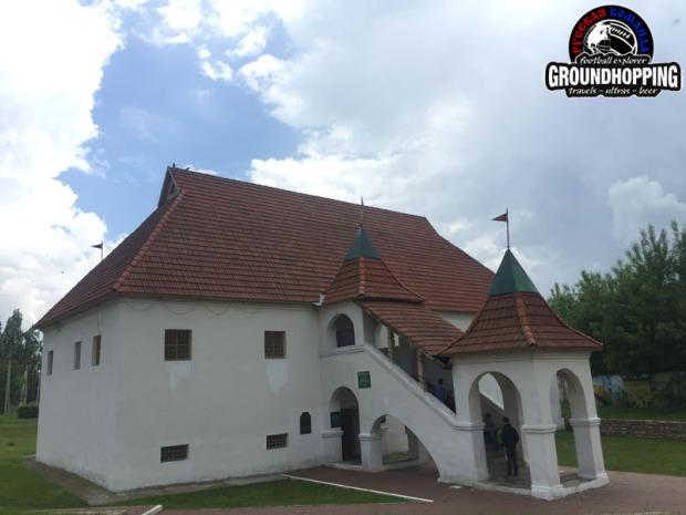 Оставшееся здание крепости Ораниенбаум
